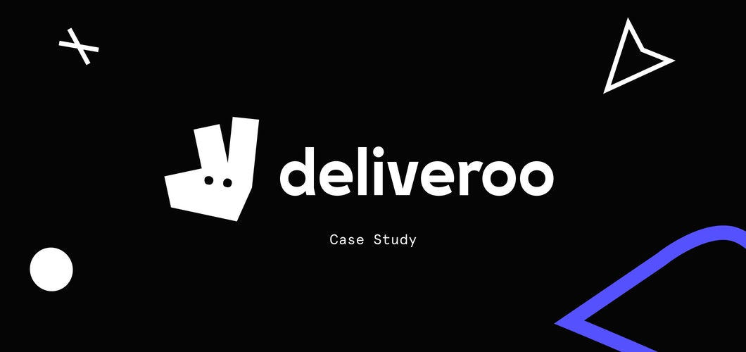 Deliveroo serves up fast designs for a mouth-watering delivery experience