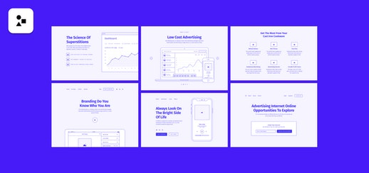 Method Wireframing Kit for Figma
