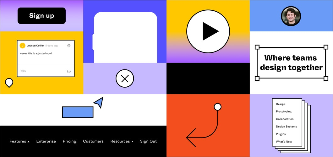 Figma on Figma: How we built our website design system