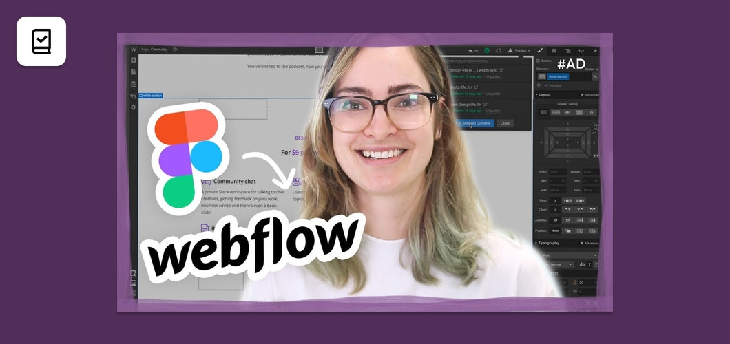 How to convert a Figma design to Webflow